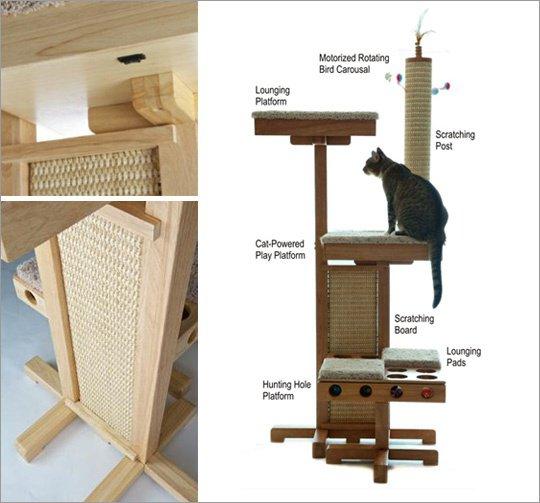 tutoriel pour construire un arbre chat 3 tapes - Arbre A Chat Maison